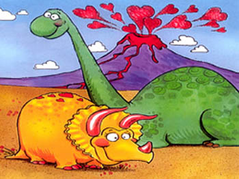 A VALENTINE DINOSAUR CRUSH Click HERE To Download. I Have A Monster Crush  On You, A Super Dinosaur! It Sits Upon My Chest And Throat And Yet I Beg  For More.